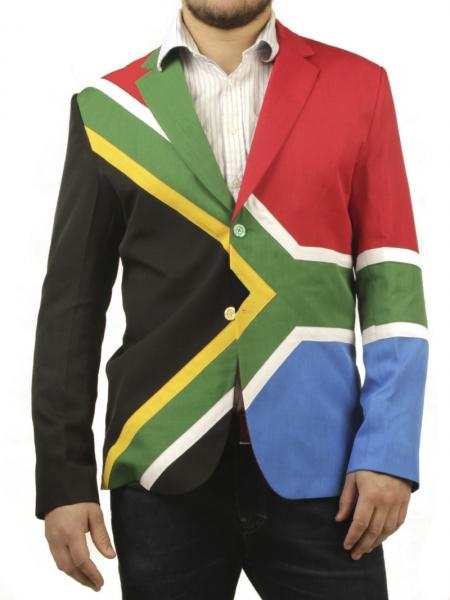South African Flag Suit Nakal Clothing