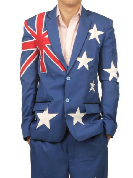 australian flag suit nakal clothing