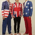 USA, UK and Oz Flag Jackets